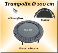 TRAMPOLINE DIAMÈTRE DE 100 CM PLIABLE TRAMPOLIN