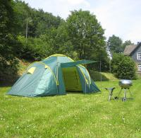 tente camping  grande tente de famille 6 pers.
