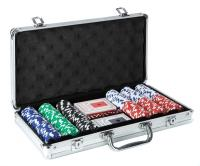 MALETTE ALU 300 JETONS 11,5G CARTES CHIPS POKER SET